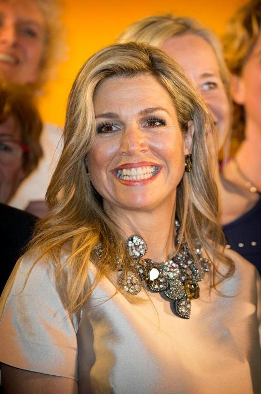 La reine Maxima des Pays-Bas était ce lundi 21 mars au soir à Noordwijk, à l'occasion de la remise du Prix Veuve Clicquot décerné dans son pays.Chaque dimanche, le Royal Blog de Paris Match vous propose de voir ou revoir les plus belles photographies de la semaine royale.