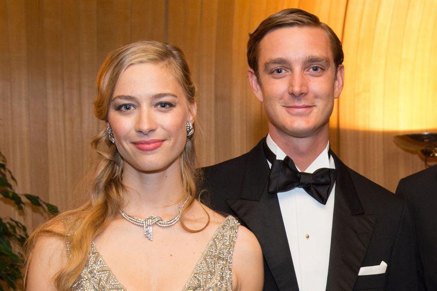 """Pierre Casiraghi et Béatrice Borromeo se sont dit """"oui"""" à Monaco, 25 juillet 2015"""