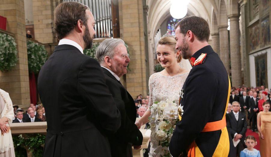 Le couple avec le père de Stéphanie