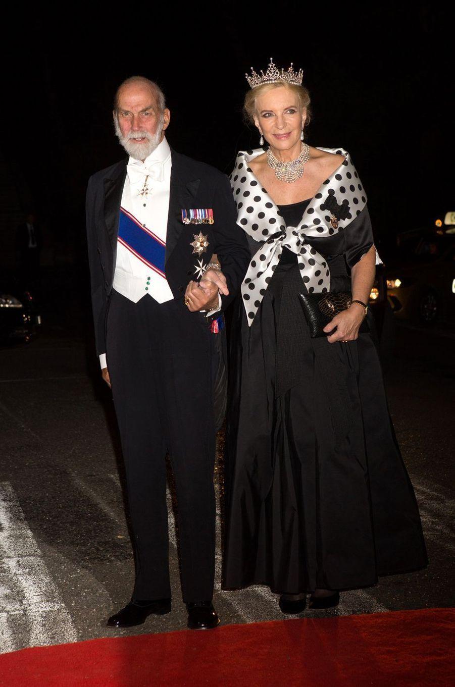 Le prince et la princesse Michael of Kent.