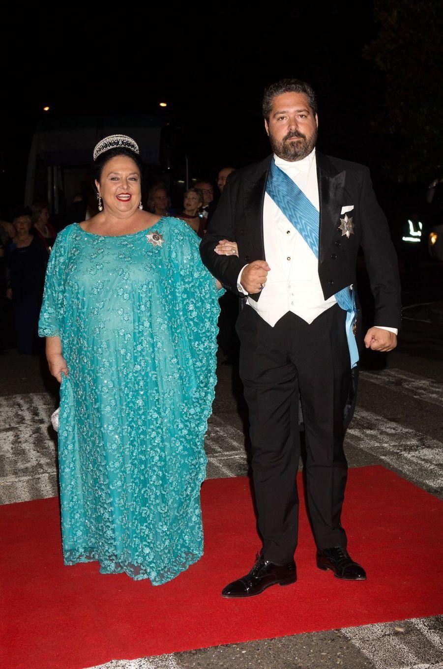 La grande-duchesse Maria de Russie et son fils le grand-duc Georges