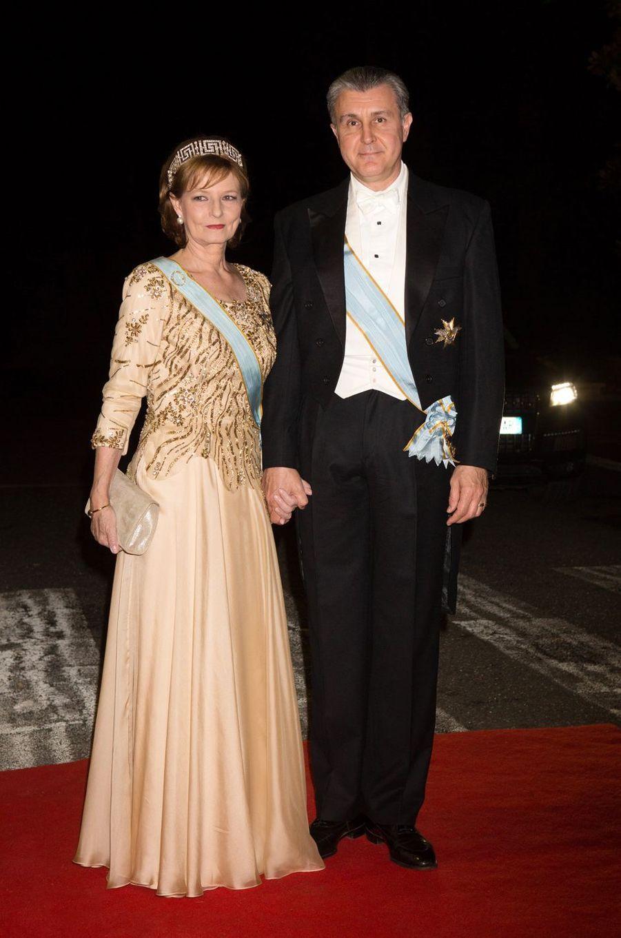 Le prince Radu de Roumanie et la princesse Margareta de Roumanie