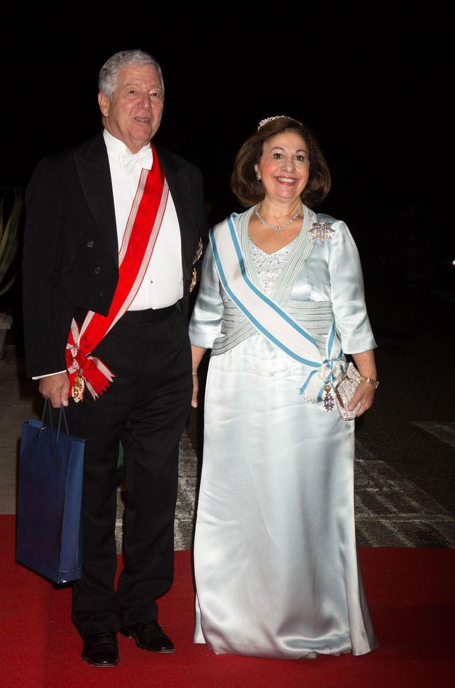 Le prince Alexandre et la princesse Catherine de Serbie