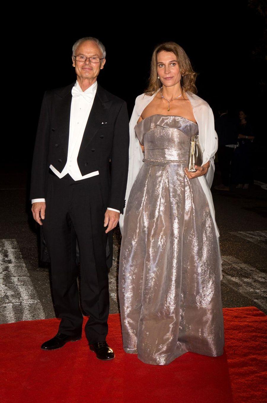 Le prince Alvaro de Orléans-Bourbon et la princesse Antonella de Orléans-Bourbon