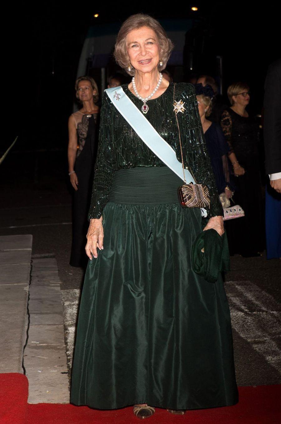 Sa Majesté la reine Sofia d'Espagne