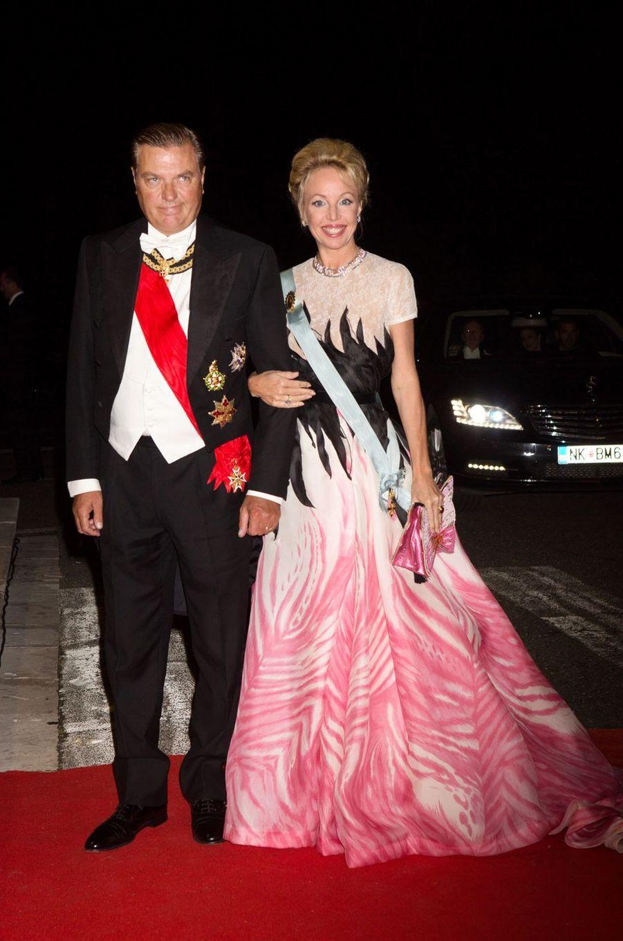 Charles et Camilla de Bourbon des Deux-Siciles