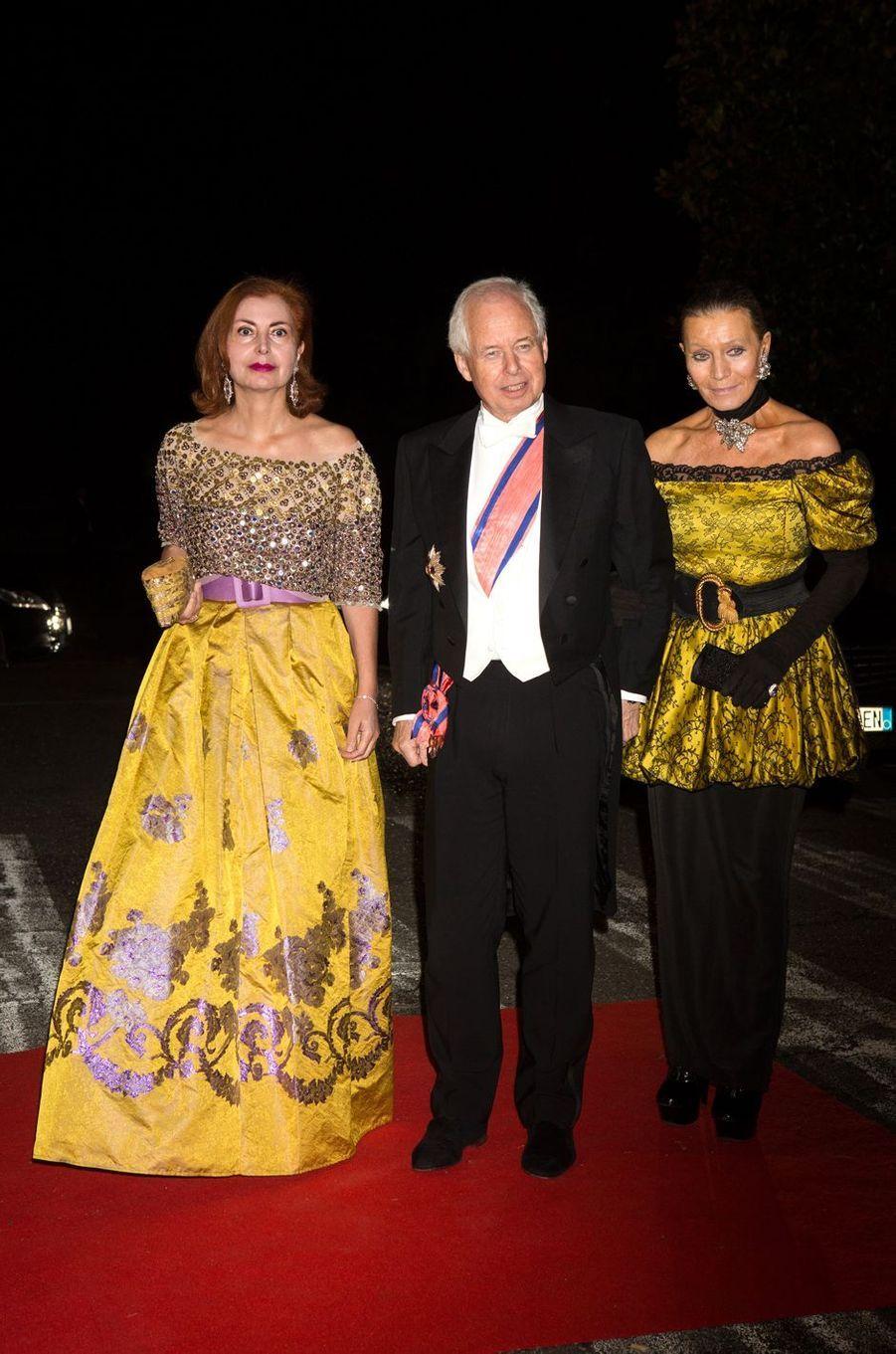 La princesse Isabelle et le prince Philippe de Liechtenstein