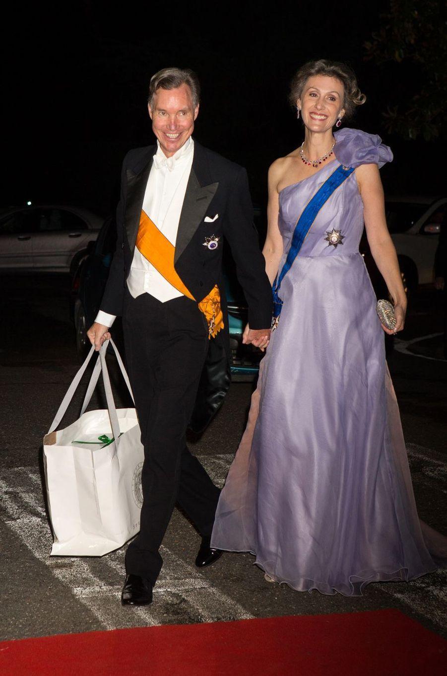 Le prince Guillaume de Luxembourg et la princesse Sybilla Weiller
