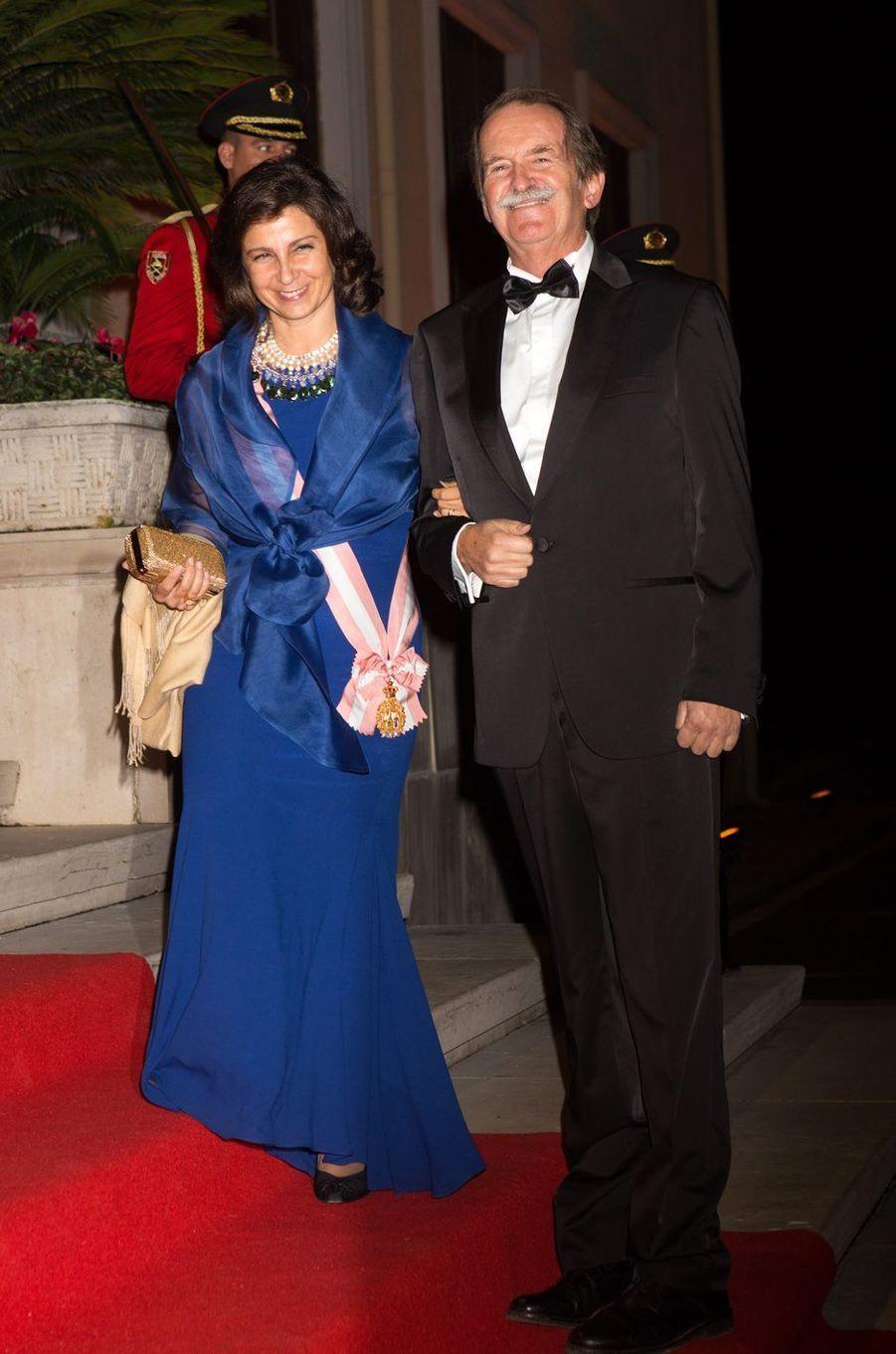 Le duc et de la duchesse de Bragance