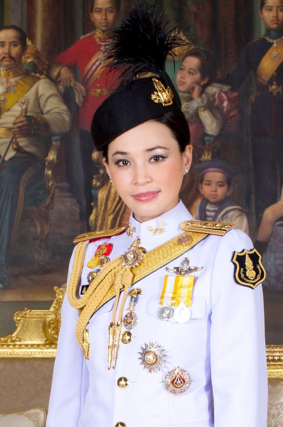 La reine Suthida de Thaïlande. Portrait diffusé le 17 mai 2019