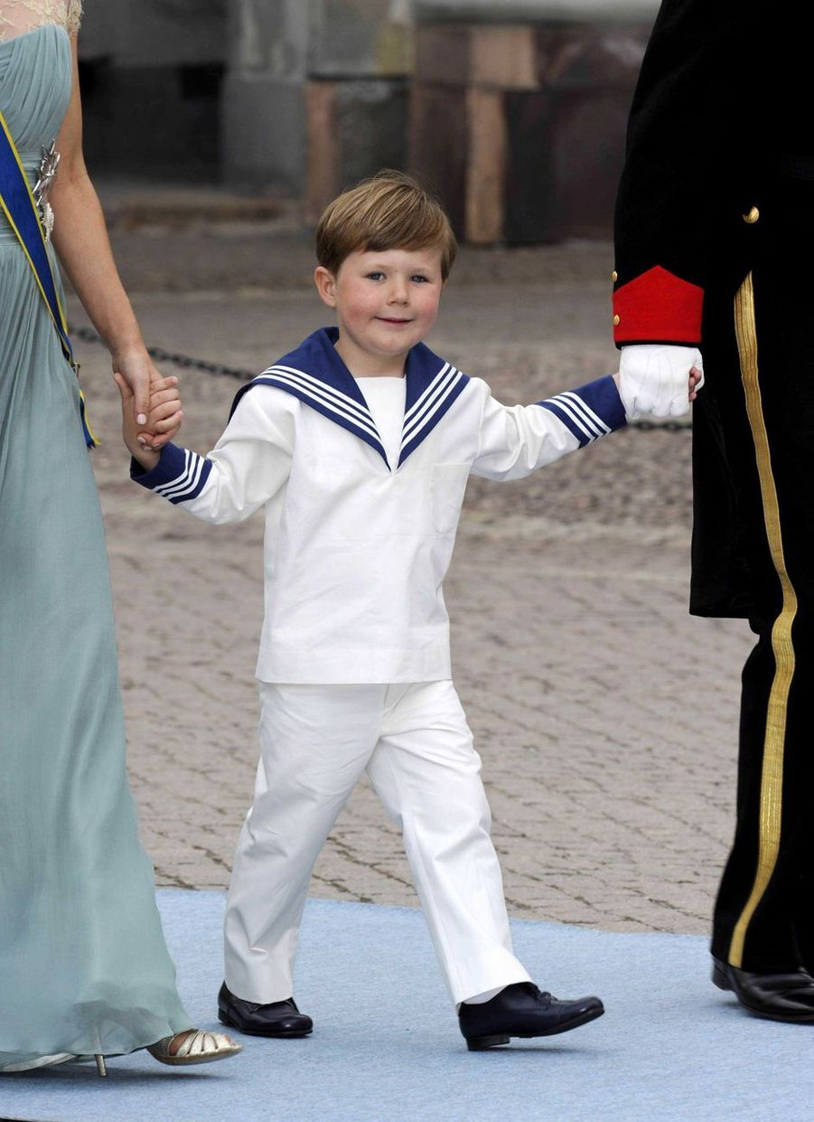 Le prince Christian de Danemark à Stockholm, le 19 juin 2010