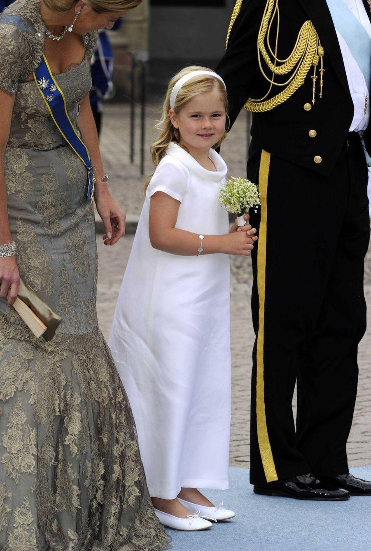 La princesse Catharina-Amalia des Pays-Bas à Stockholm, le 19 juin 2010