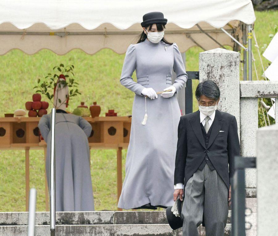 Les princesses du Japon Kako (au fond) et Mako (au premier plan) à Hachioji, le 16 juin 2020