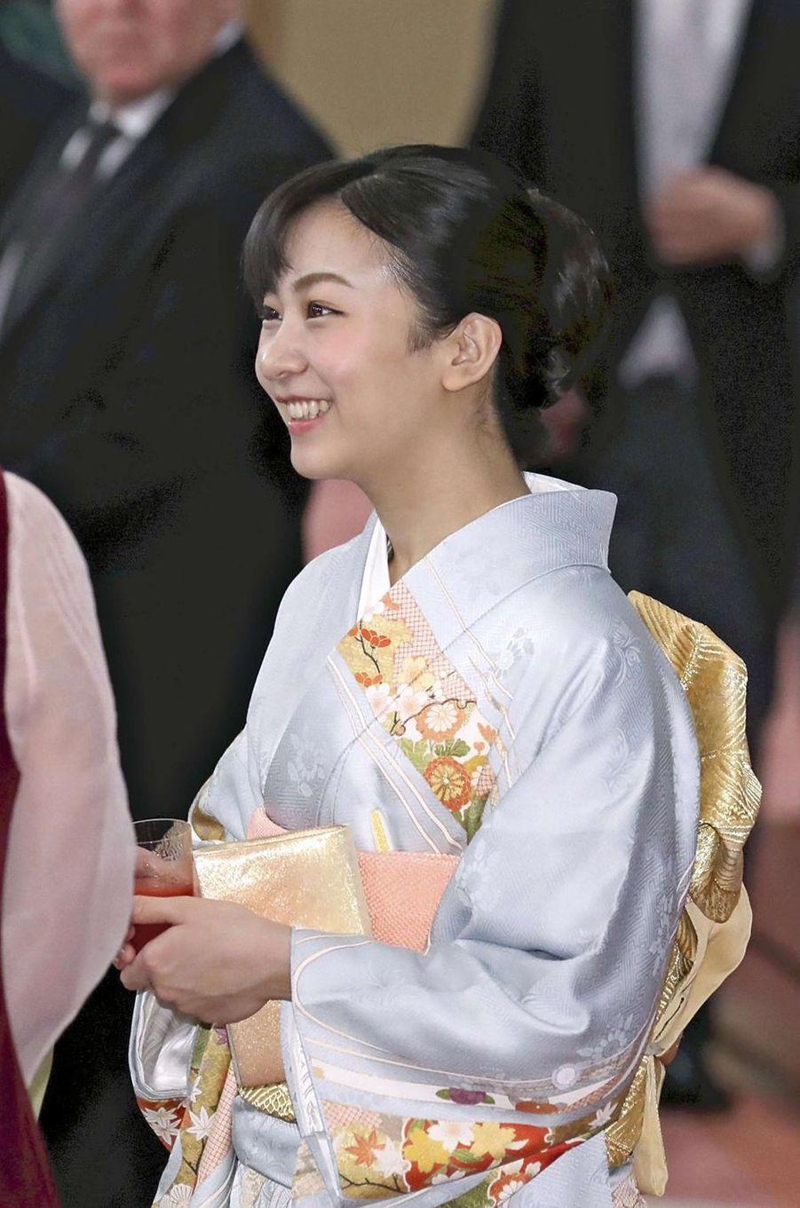 La princesse Kako du Japon à Tokyo, le 26 février 2019