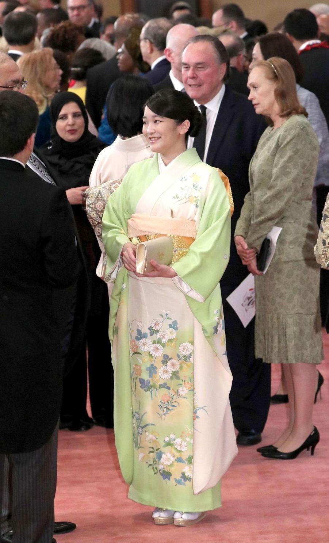 La princesse Mako du Japon à Tokyo, le 26 février 2019