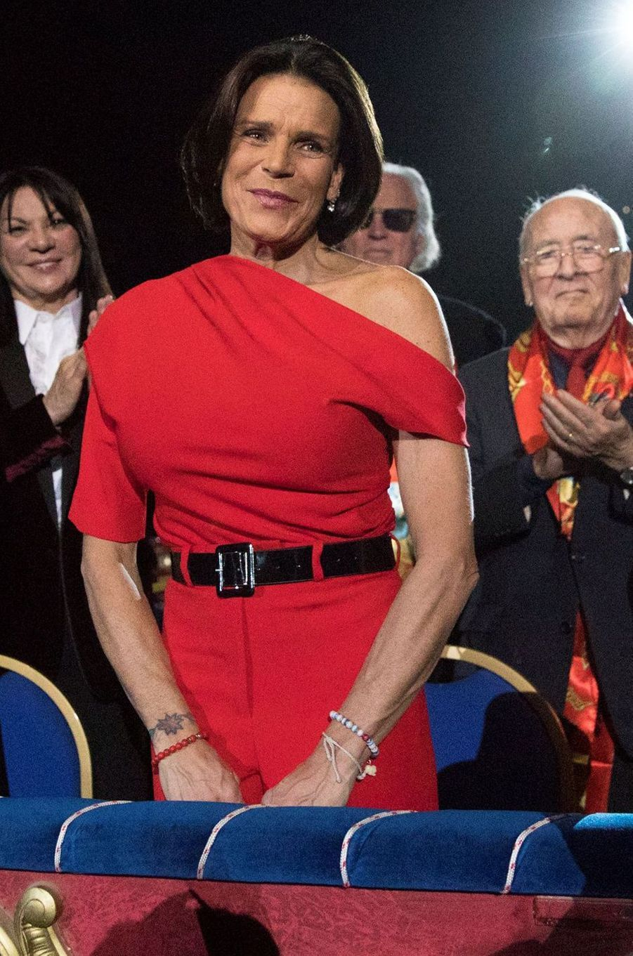 La princesse Stéphanie de Monaco, 16 janvier 2020