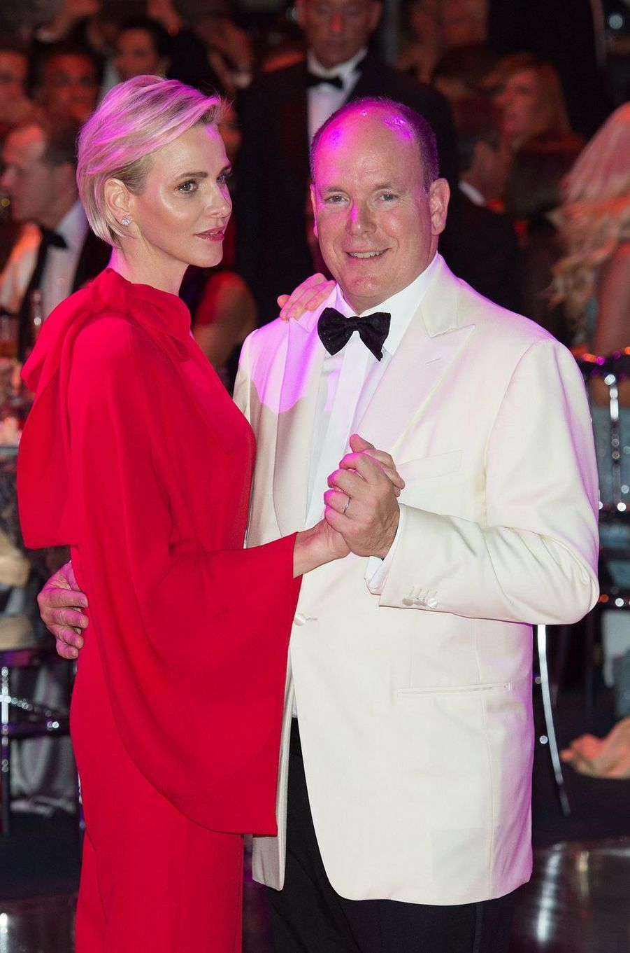 La princesses Charlène de Monaco, le 25 juillet 2015