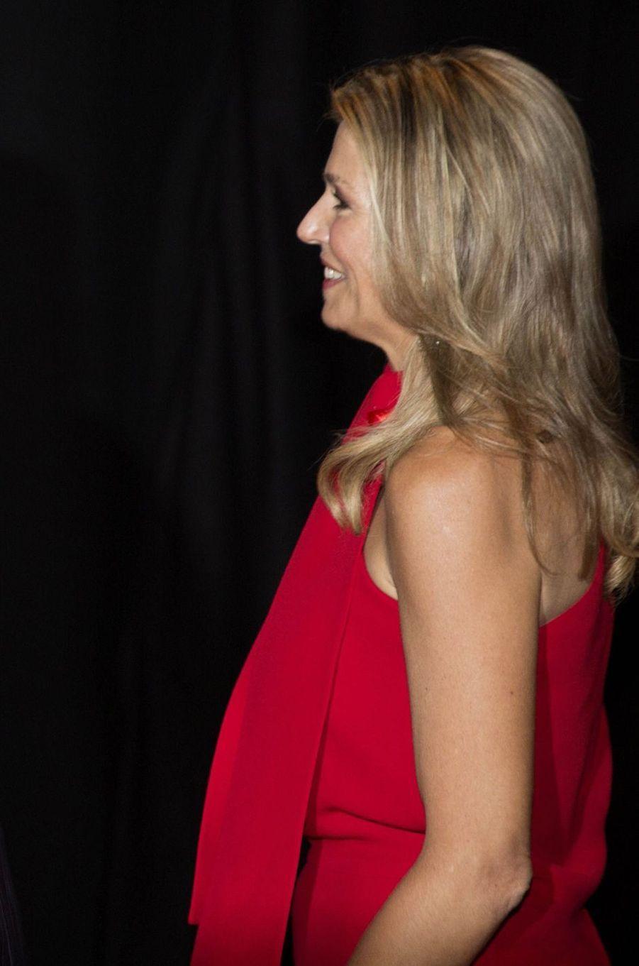 La reine Maxima des Pays-Bas, le 16 mai 2018