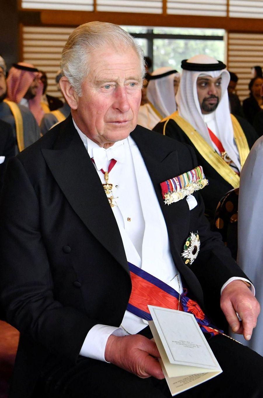 Le prince Charles d'Angleterre à Tokyo, le 22 octobre 2019