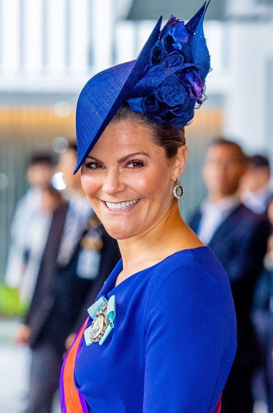 La princesse héritière Victoria de Suède à Tokyo, le 22 octobre 2019