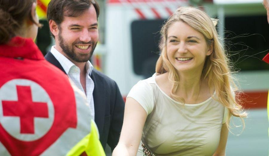 Rencontre avec la Croix-Rouge en juin
