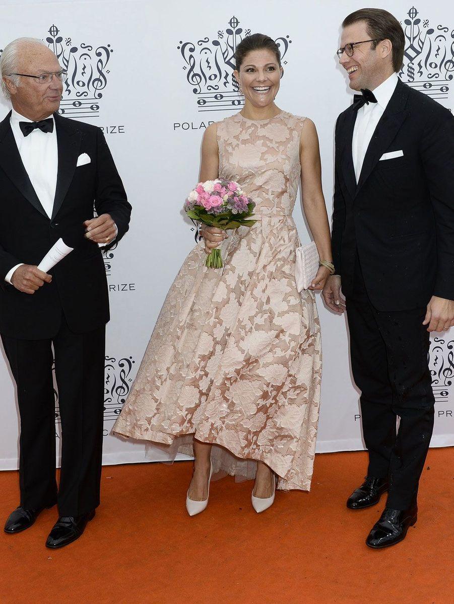 Victoria, Daniel et le roi Carl Gustaf