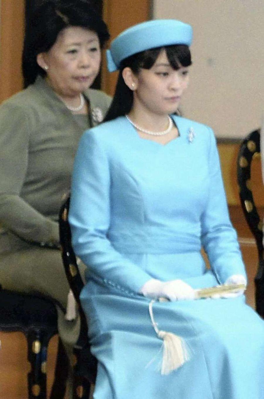 La princesse Mako à Tokyo, le 11 janvier 2017