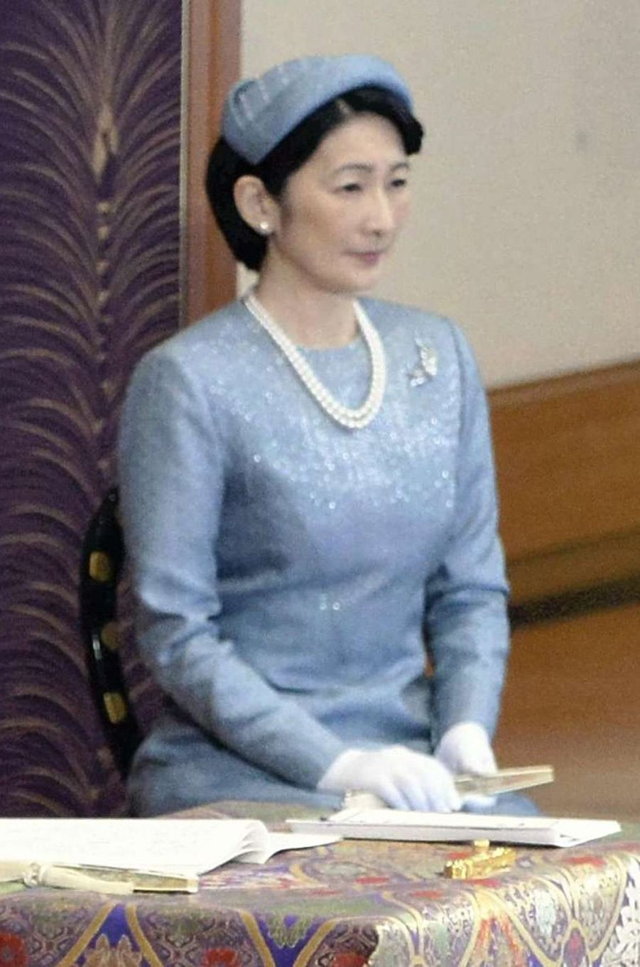La princesse Kiko à Tokyo, le 11 janvier 2017