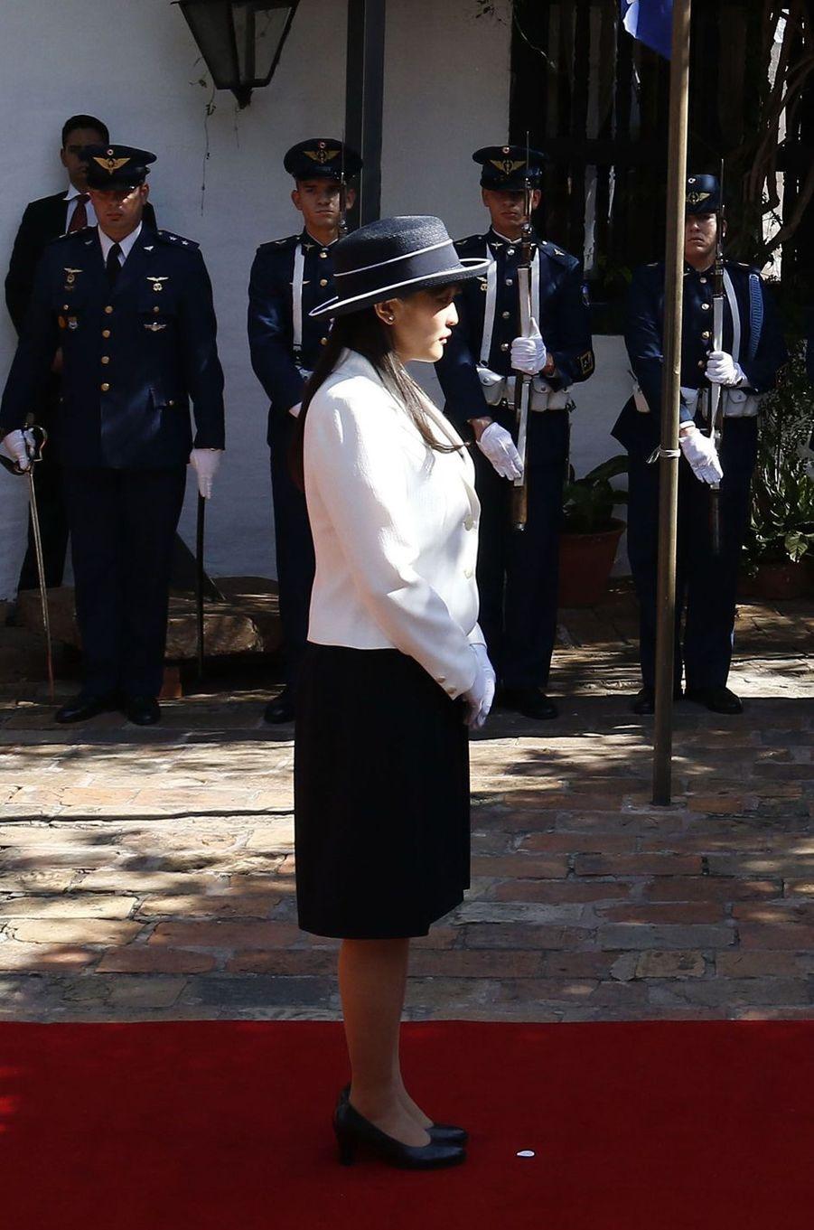 La princesse Mako du Japon à Asuncion, le 7 septembre 2016
