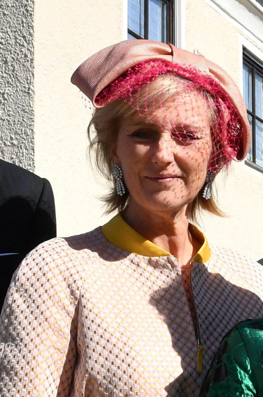 La princesse Astrid de Belgique à Niederalteich, le 29 septembre 2018