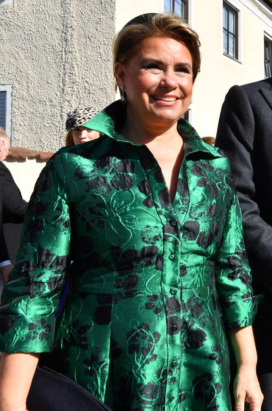La grande-duchesse Maria Teresa de Luxembourg à Niederalteich, le 29 septembre 2018