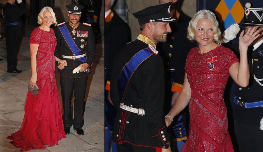 La Princesse Mette-Marit et le Prince Haakon de Norvège