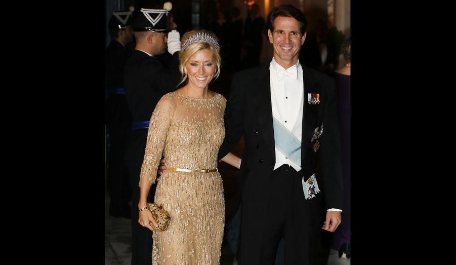 Le prince Pavlos de Grèce et la princesse Marie-Chantal