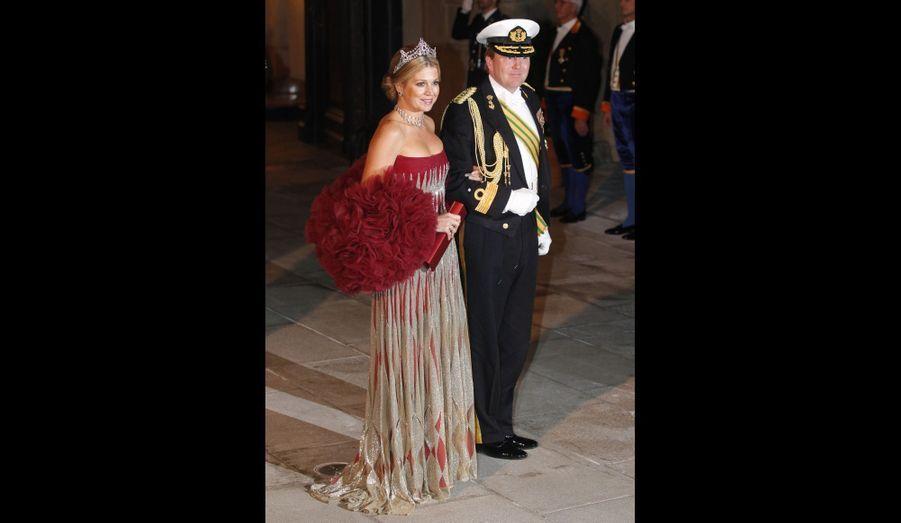 Le Prince Willem-Alexander et Princesse Maxima des Pays-Bas