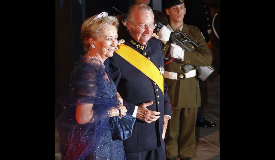 Le roi Albert II de Belgique et la reine Paola