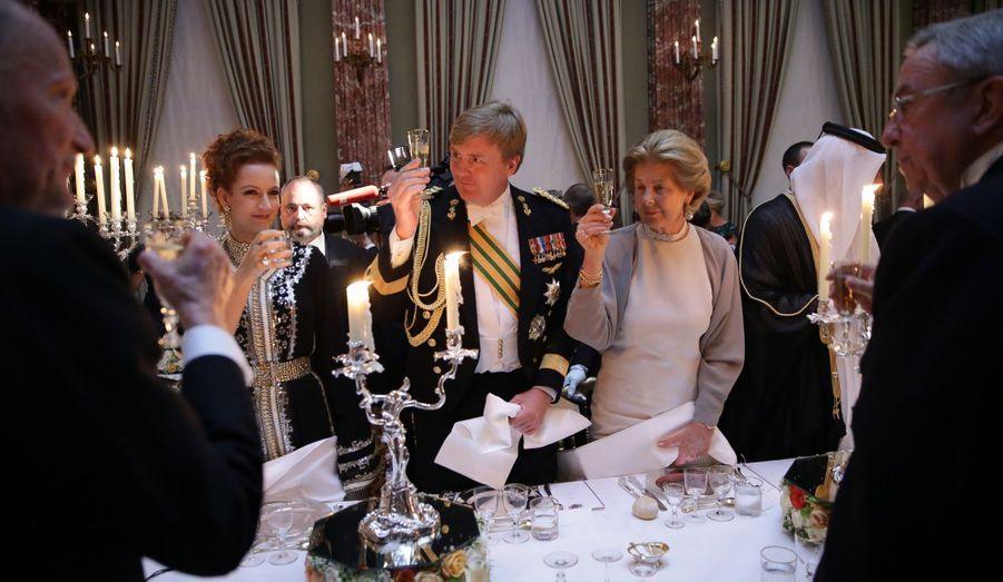 Le toast du Prince Willem-Alexander