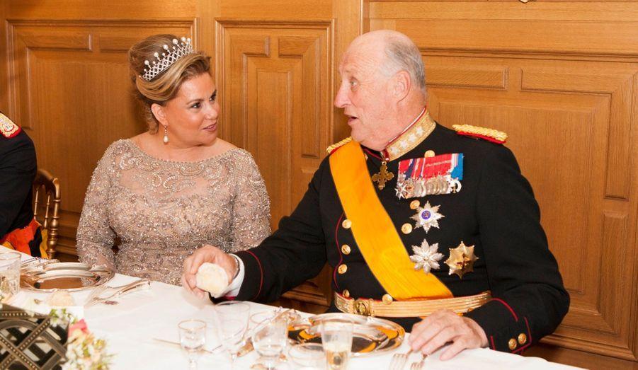 Maria Teresa et le roi Harald
