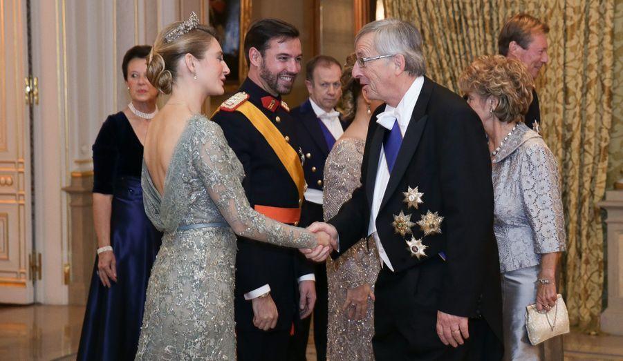 Stéphanie et Jean-Claude Juncker