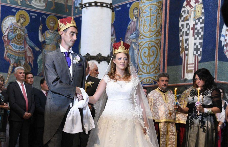 Le Mariage Du Prince Djordje Karadjordjevic De Serbie Avec Fallon Rayman, Le 15 Juillet 2017 1