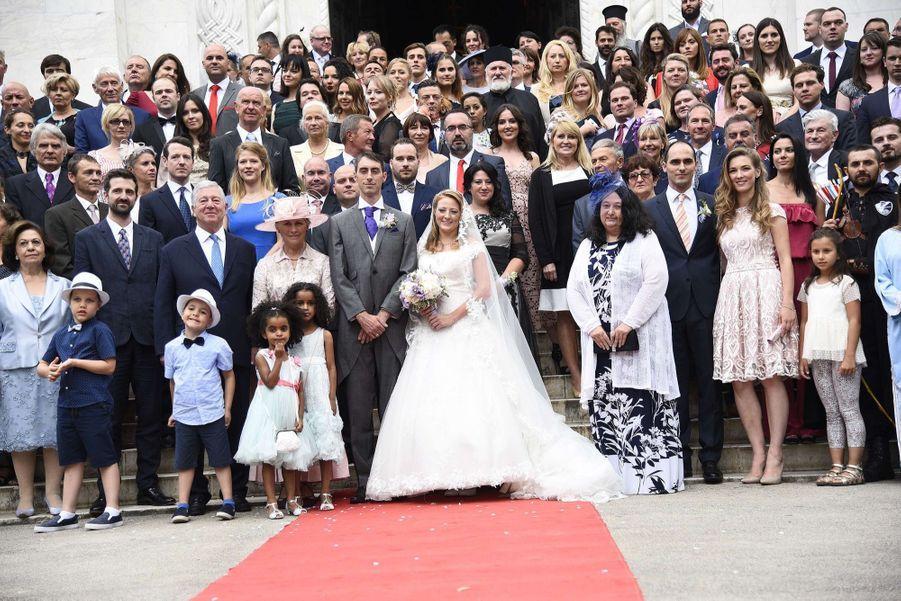 Le Mariage Du Prince Djordje Karadjordjevic De Serbie Avec Fallon Rayman, Le 15 Juillet 2017 10