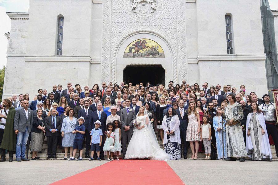 Le Mariage Du Prince Djordje Karadjordjevic De Serbie Avec Fallon Rayman, Le 15 Juillet 2017 11