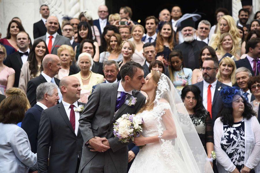 Le Mariage Du Prince Djordje Karadjordjevic De Serbie Avec Fallon Rayman, Le 15 Juillet 2017 12