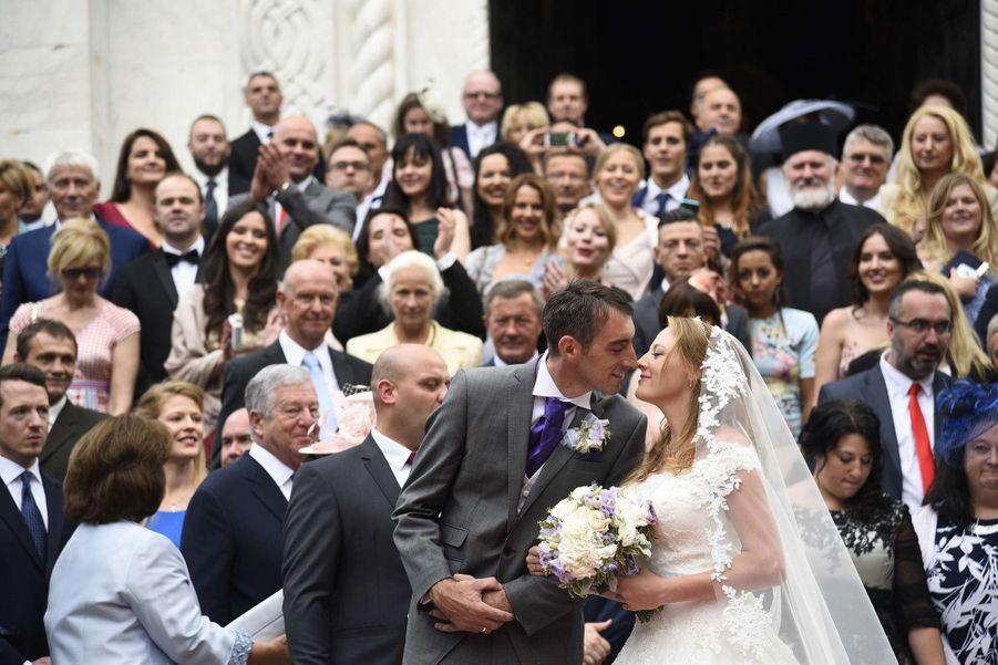 Le Mariage Du Prince Djordje Karadjordjevic De Serbie Avec Fallon Rayman, Le 15 Juillet 2017 13