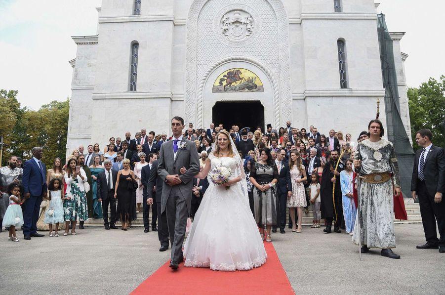 Le Mariage Du Prince Djordje Karadjordjevic De Serbie Avec Fallon Rayman, Le 15 Juillet 2017 14