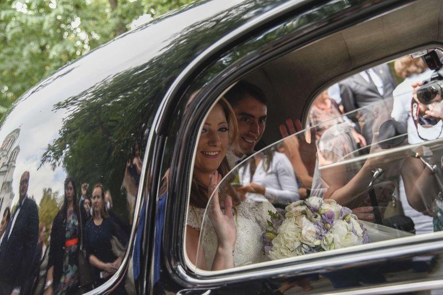 Le Mariage Du Prince Djordje Karadjordjevic De Serbie Avec Fallon Rayman, Le 15 Juillet 2017 15
