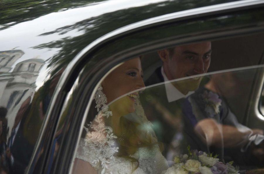 Le Mariage Du Prince Djordje Karadjordjevic De Serbie Avec Fallon Rayman, Le 15 Juillet 2017 16