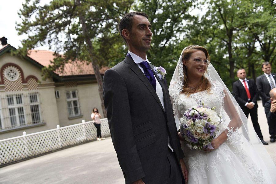 Le Mariage Du Prince Djordje Karadjordjevic De Serbie Avec Fallon Rayman, Le 15 Juillet 2017 2