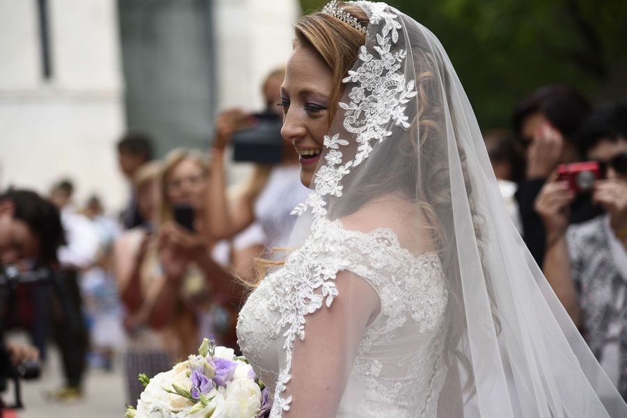 Le Mariage Du Prince Djordje Karadjordjevic De Serbie Avec Fallon Rayman, Le 15 Juillet 2017 3
