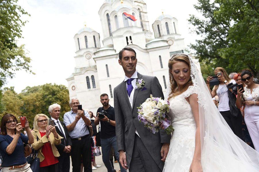 Le Mariage Du Prince Djordje Karadjordjevic De Serbie Avec Fallon Rayman, Le 15 Juillet 2017 4