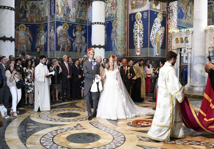 Le Mariage Du Prince Djordje Karadjordjevic De Serbie Avec Fallon Rayman, Le 15 Juillet 2017 7